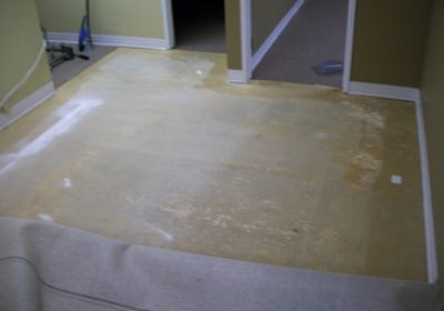 hall-prep commercial carpet repair